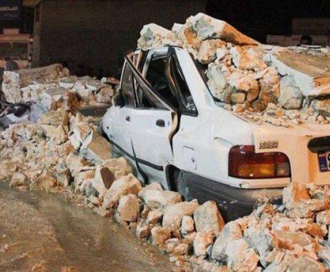 تخریب کامل برخی از واحدهای مسکونی در شهر سیسخت