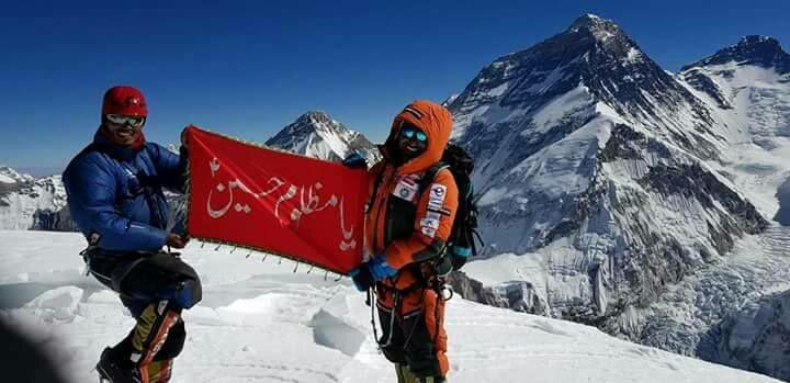 """دنیا کی بلند ترین چوٹیوں پر حسینیؑ پرچم نصب کرنے والے """"محمد علی سدپارہ"""" کی موت کی تصدیق"""