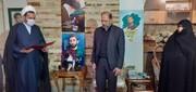 نماینده آیت الله اعرافی به دیدار خانواده شهید محمد حسین حدادیان رفت + عکس