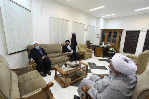 دیدار مدیر حوزه های علمیه خواهران با دبیرکل مجمع جهانی اهل بیت(ع)
