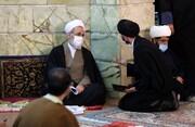 فیلم | نشست صمیمی آیت الله اعرافی با جمعی از طلاب نخبه حوزه