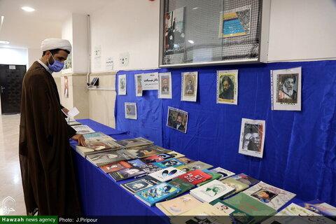"""بالصور/ إقامة معرض """"روّاد الشهادة"""" للاحتفاء بمقام شهداء علماء الدين في مركز إدارة الحوزات العلمية بقم المقدسة"""