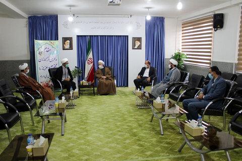 تصاویر/ دیدار حجت الاسلام والمسلمین صدیقی با نماینده ولی فقیه در خراسان شمالی