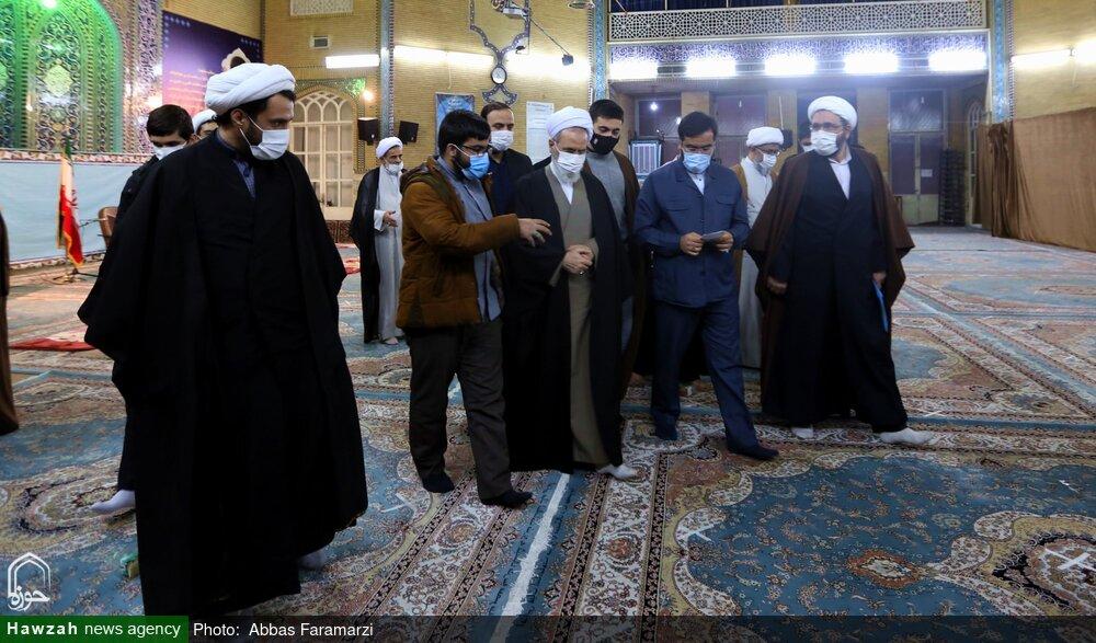 گزارشی از دل گویه های طلاب نخبه در نشستی صمیمی باآیت الله اعرافی