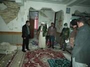 خدمات رسانی جهادی به زلزله زدگان سی سخت تا پایان بحران ادامه دارد