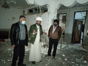 ابتکار جالب امام محله عباس آباد سی سخت | خدمات رسانی آنلاین به اهالی زلزله زده
