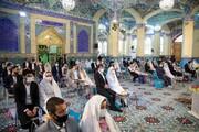 تصاویر/ جشن ازدواج آسان ۴۰۰ زوج یزدی