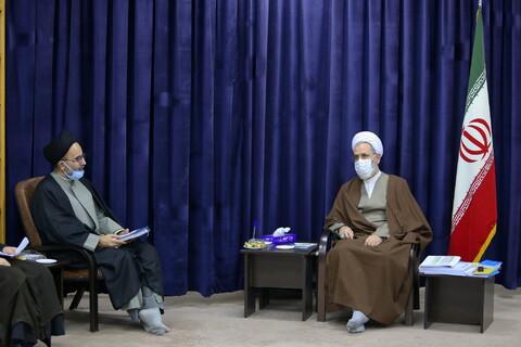 تصاویر/ دیدار نمایندگان طلاب استان مازندران با آیت الله اعرافی