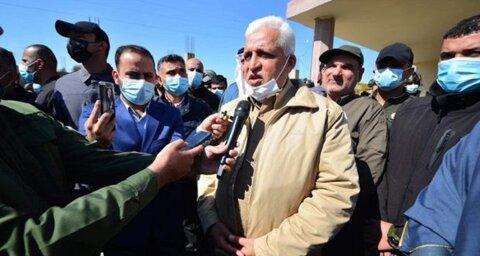 فالح الفیاض رئیس سازمان حشد الشعبی عراق
