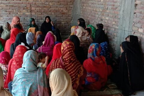 ضلع ٹنڈو محمد خان میں خواتین اور بچیوں کے لیے درسگاہ منتظران مہدی (عج) کا افتتاح