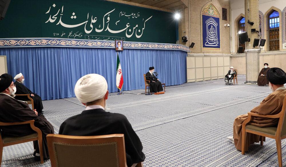 تصاویر/ دیدار رئیس و اعضای مجلس خبرگان رهبری با رهبر معظم انقلاب