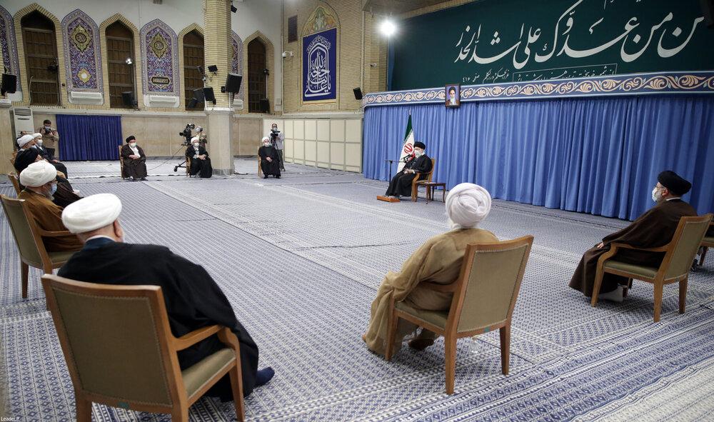 فیلم | رهبر انقلاب: اسلام ساخت سلاح هستهای را ممنوع میداند و کشتار غیرنظامیان روش آمریکاست