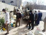تصاویر/ خدمت رسانی روحانیون و طلاب جهادی در سی سخت