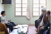 نشست نمایندگان آیت الله اعرافی با ممتحنین امتحانات شفاهی و خارج حوزه