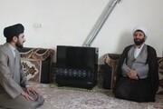 تصاویر/ دیدار مدیر حوزه علمیه کردستان با روحانی طرح هجرت شهرستان کامیاران