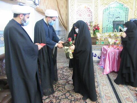 تجلیل از اساتید آستان حضرت معصومه