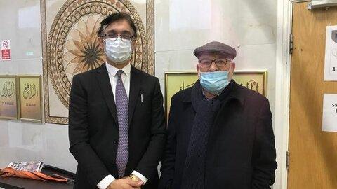 مرکز جدید واکسیناسیون کرونا در مسجد مرکزی ویلسدن، لندن