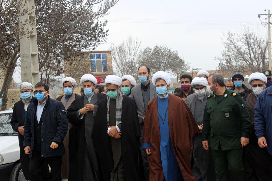تصاویر/ سفر نماینده ولی فقیه در خراسان شمالی به شهرستان راز و جرگلان