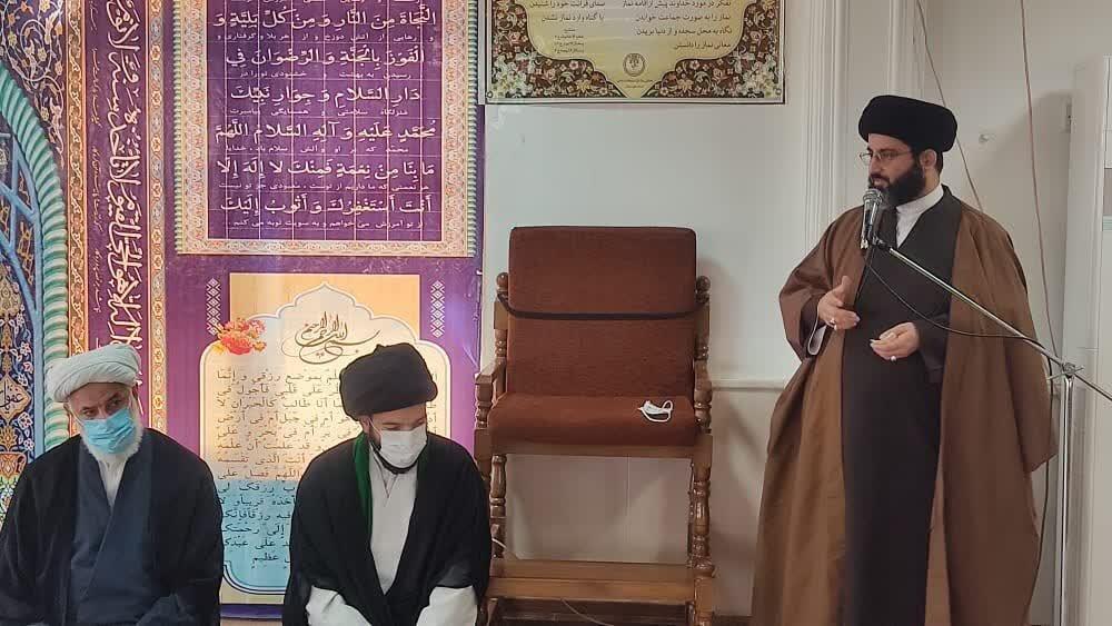 مدیر مدرسه علمیه امام رضا(ع) شهرستان اندیکا معارفه شد+عکس