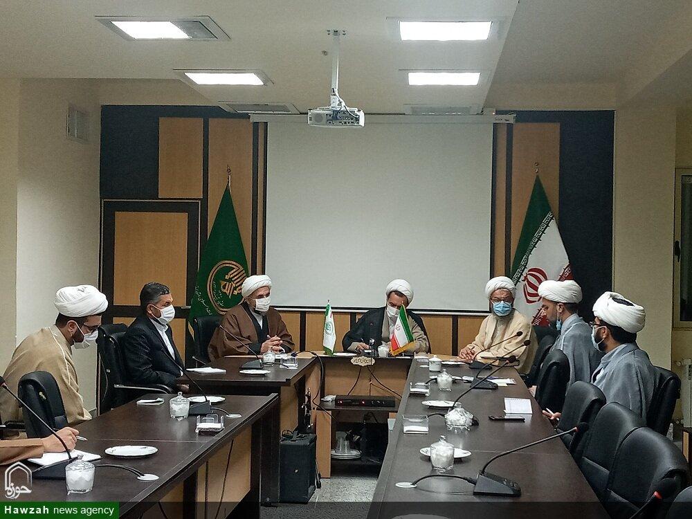 تصاویر/ نشست معاون تبلیغ حوزههای علمیه با معاونین تبلیغ شهرستانهای استان سمنان