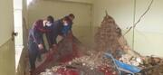 کلیپ | طلاب جهادی در کنار مردم زلزلهزده سیسخت