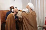 آیین عمامه گذاری جمعی از طلاب مدرسه منصوریه شیراز برگزار شد