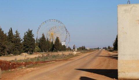 الارهابیون یستهدفون ممر ترنبة-سراقب في ريف إدلب الشرقي