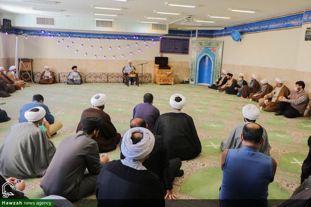 تصاویر/ گردهمایی کارکنان مرکز مدیریت حوزه اصفهان به مناسبت ولادت حضرت علی(ع)