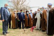تصاویر/ مراسم کلنگ زنی موسسه نهج البلاغه استان اصفهان