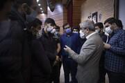 تصاویر/ گفتوگوی سخنگوی شورای نگهبان با دانشجویان بسیجی