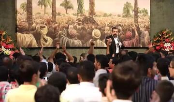 فیلم | مدح امیرالمومنین(ع) توسط محمود کریمی