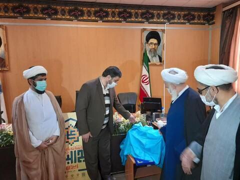 تصاویر/ رونمایی از برنامه های  طرح ملی کاشان پایتخت نهج البلاغه ایران در سالروز میلاد حضرت علی (ع)