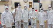 اعتکاف طلاب اهوازی در بیمارستان کرونایی
