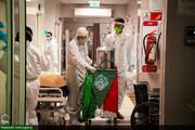 تصاویر/ جشن میلادی متفاوت در بیمارستان کرونایی اهواز