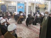 جشن میلاد امام علی (ع) در دفتر آیتالله فاضل لنکرانی برگزار شد