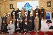 تصاویر / مراسم اختتامیه گردهمایی دبیران گروه های جهادی حوزه های علمیه سراسر کشور