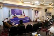 گزارشی از حضور وزیر بهداشت در جلسه شورای عالی جامعه مدرسین حوزه علمیه قم