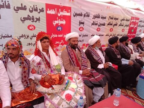 رانی پور میں اجتماعی شادی کی پروقار تقریب منعقد