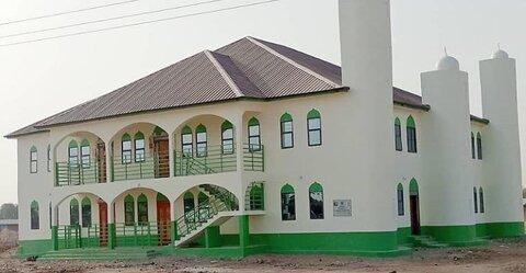 نخستین مسجد چندمنظوره در شمال شرقی غنا آماده بهرهبرداری