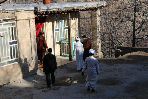 تصاویر| سرکشی و همدردی طلاب فارس با مناطق زلزله زده یاسوج