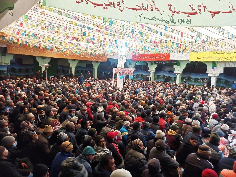 تصاویر/ جمعیت العلماء اثنا عشریہ کرگل کے زیر اہتمام عظیم الشان جشن مولود کعبہ منعقد