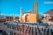 تصاویر/ 13رجب پر حرم حضرت امیرالمومنین (ع) کا روح پرور منظر