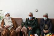 جمعی از مسئولان سپاه قزوین با خانواده شهید حفظ الله عابدینی دیدار و گفتوگو کردند