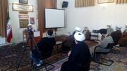 تصاویر / مراسم عزاداری وفات حضرت زینب کبری(س)  در مدرسه علمیه طالبیه تبریز