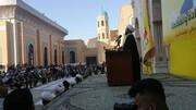 عراق کے شہداء اپنے اہل وطن کے لئے ہمیشہ نور کی مانند منور رہینگے، حجۃ الاسلام شیخ علی نجفی
