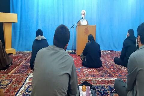 تصاویر/ نشست بصیرتی طلاب خوی با حجت الاسلام و المسلمین زمانی