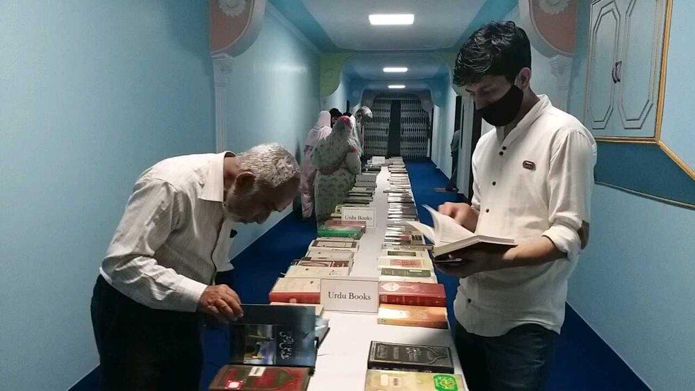 मौलाना आज़ाद पुस्तकालयमें हज़रत अली (अ.स.) से संबंधित पुस्तकों की प्रदर्शनी