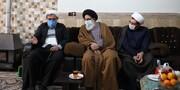 دیدار نماینده ولیفقیه در استان البرز با روحانی پیشکسوت+ تصاویر