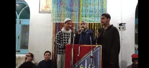 کشمیر، چھولاں اوڑی میں انجمن ناصران امام مہدی عج کے زیر اہتمام جشن مولود کعبہ کا انعقاد