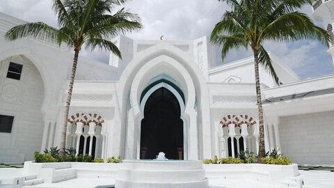 نخستین مسجد در فلوریدا به مرکز واکسیناسیون تبدیل شد